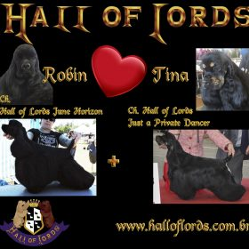 Ch. Hall of Lords June Horizon X Ch. Hall of Lords Just a Private Dancer
