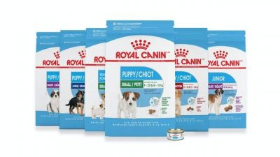 Packshot produits Puppy Royal Canin
